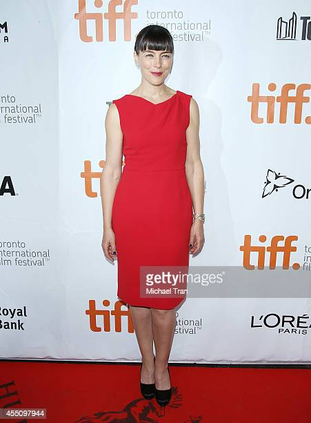 Olivia Williams arrives at the premiere of Maps To The Stars held during the 2014 Toronto International Film Festival - Day 6 held on September 9,...