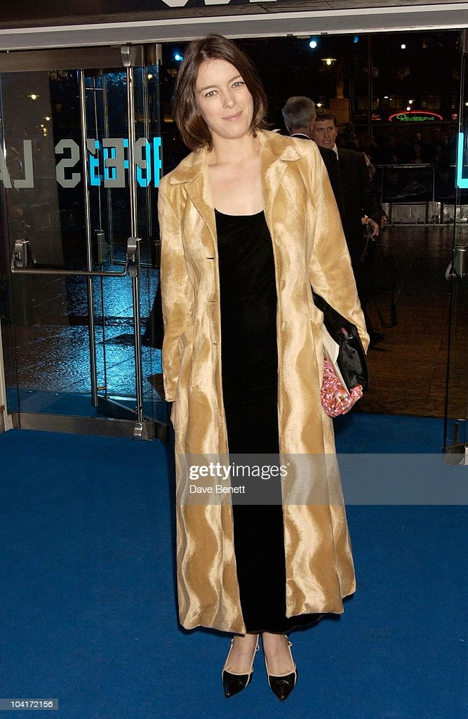 Olivia Williams, 'Master And Commander: The Far Side Of The World' Royal Premiere At The Odeon Leicester Square, London