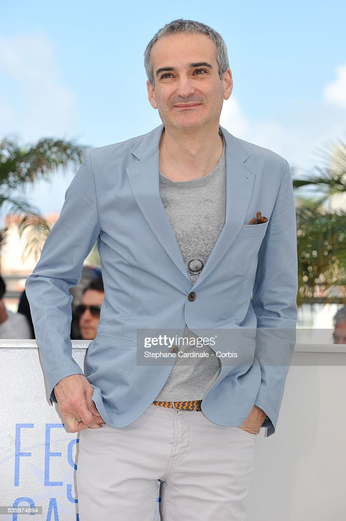 Olivier Assayas attend the 'Clouds Of Sils Maria' photocall during the 67th Cannes Film Festival