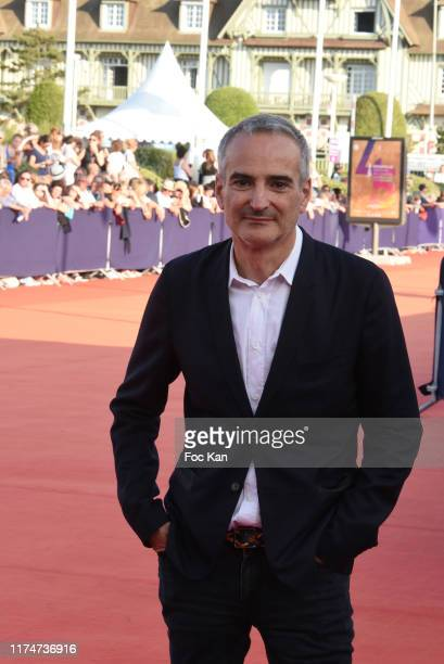 Olivier Assayas attends the Award Ceremony during the 45th Deauville American Film Festival on September 14 2019 in Deauville France