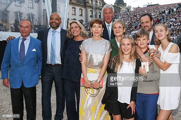 Olivier Audemars Antoinette Bagusat Dorota Audemars Gloria von Thurn und Taxis Carlotta Hipp Alexander von SchoenburgGlauchau Benedikt von...