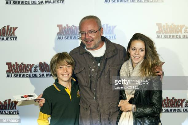 Olivier Baroux attends at 'Asterix et Obelix au service de sa majeste' film premiere at 'Le Grand Rex' on September 30 2012 in Paris France