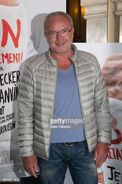 Olivier Baroux attends the 'Bon Retablissement' Premiere at Theatre Edouard VII on September 8 2014 in Paris France