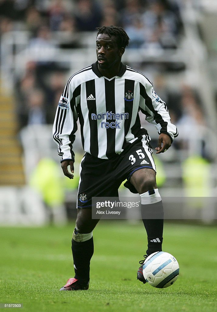 Olivier Bernard of Newcastle United : News Photo