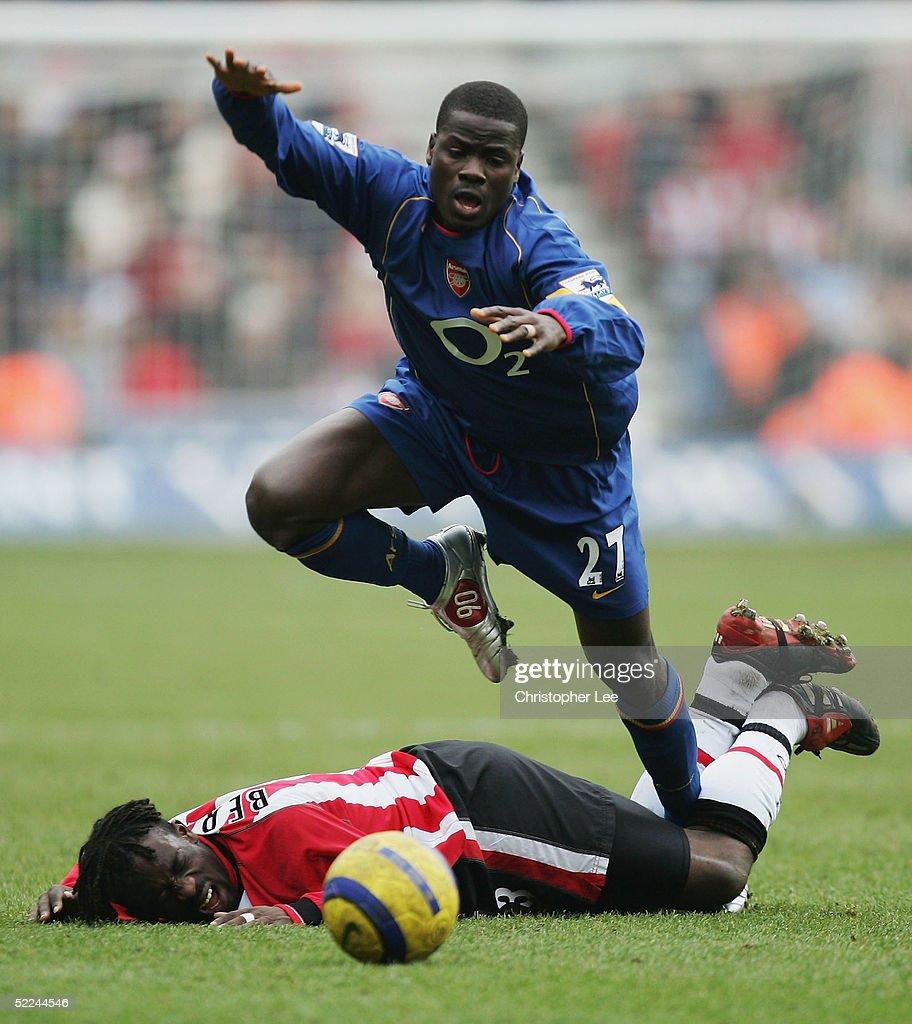 Southampton v Arsenal : News Photo