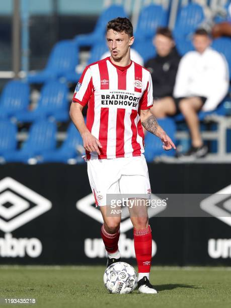 Olivier Boscagli of PSV during a international friendly match between PSV Eindhoven and KAS Eupen at Aspire Academy on January 11, 2020 in Doha, Qatar
