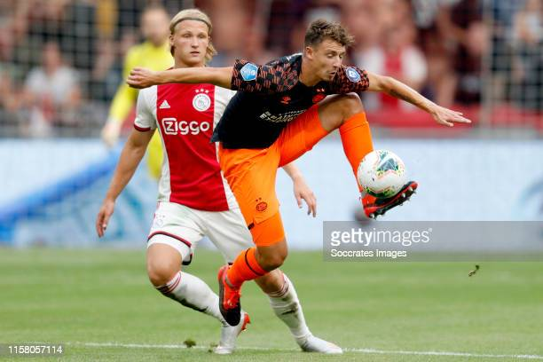 Olivier Boscagli of PSV during the Dutch Johan Cruijff Schaal match between Ajax v PSV at the Johan Cruijff Arena on July 27 2019 in Amsterdam...