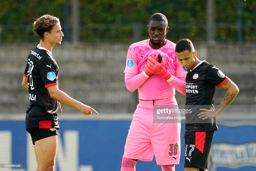 Olivier Boscagli Of Psv Yvon Mvogo Of Psv Mauro Jaqueson Junior News Photo Getty Images