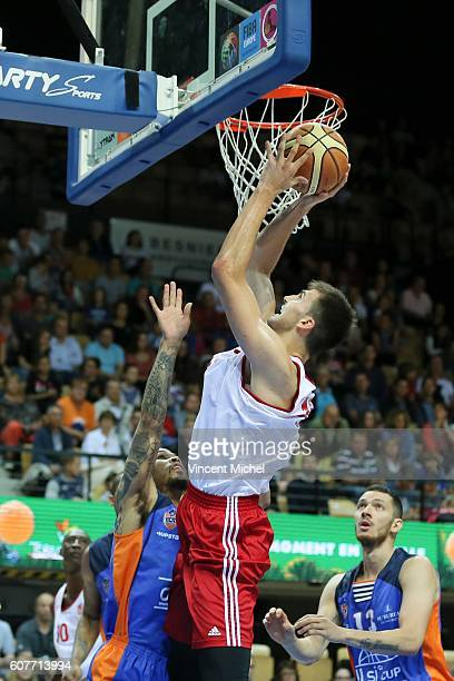 Olivier Cortale of Strasbourg during the Final match between Strasbourg and Gravelines Dunkerque at Tournament ProStars at Salle Arena Loire on...