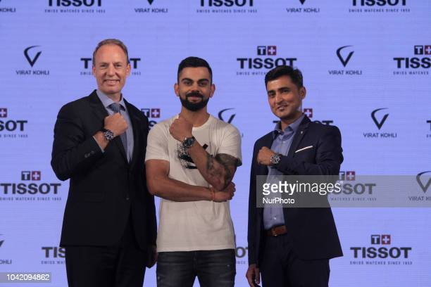 Olivier Cosandier VP Sales Tissot at Swatch Group Virat Kolhi an Indian international cricketer who currently captains the India national team and...