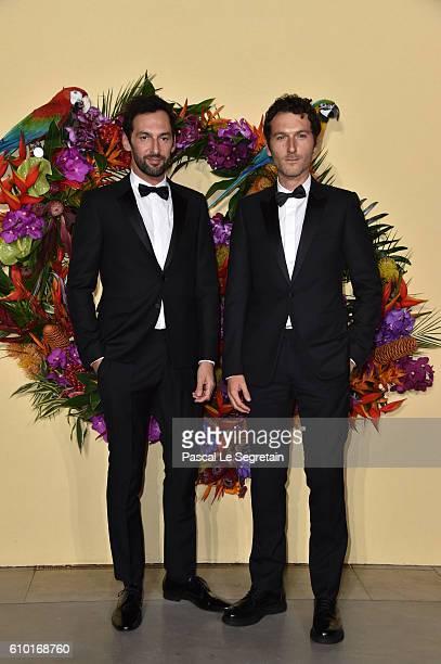 Olivier Coursier and Simon Buret attend the Opening Season Gala at Opera Garnier on September 24 2016 in Paris France