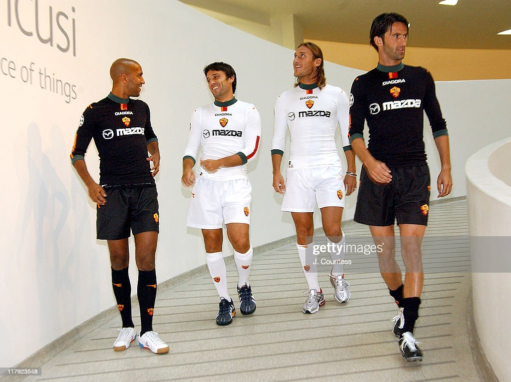 Diadora Launches Their New Clothing Line Created Especially for AS ROMA,