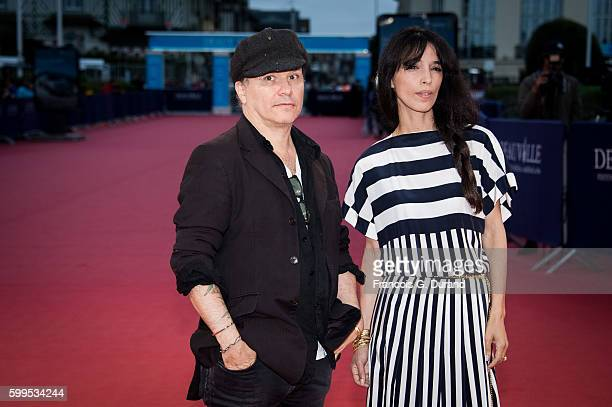 """Olivier Dahan and his wife attend the """"In Dubious Battle"""" Premiere during the 42nd Deauville American Film Festival on September 5, 2016 in..."""