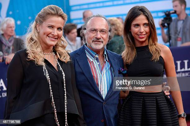 Olivier Dassault and his wife Natacha arrive at the 'The Man From UNCLE' Premiere during the 41st Deauville American Film Festival on September 11...