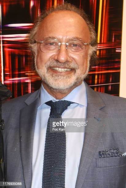 Olivier Dassault attends JonOne Paintings Exhibition Preview Hosted by Natacha Dassault and Olivier Dassault at Not A Gallery on September 24 2019 in...