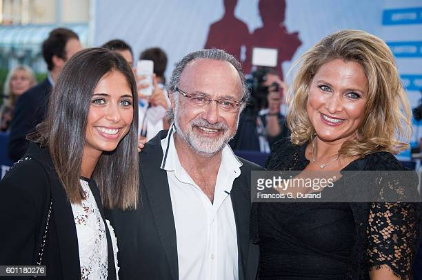 Olivier Dassault with his wife Natacha and daughter attend the Imperium Premiere during the 42nd Deauville American Film Festival on September 9 2016...
