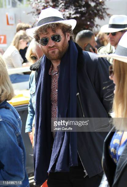 Olivier de Benoist attends the men's final during day 15 of the 2019 French Open at Roland Garros stadium on June 9 2019 in Paris France