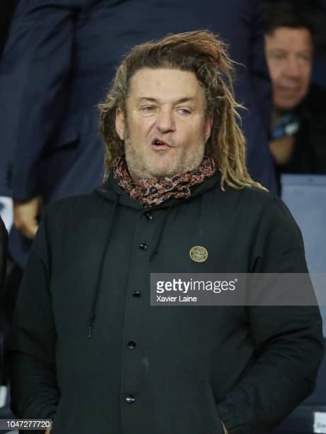 Olivier Delacroix attends during the French Ligue 1 match between Paris Saint Germain and Olympique Lyon on October 07 2018 in Paris France