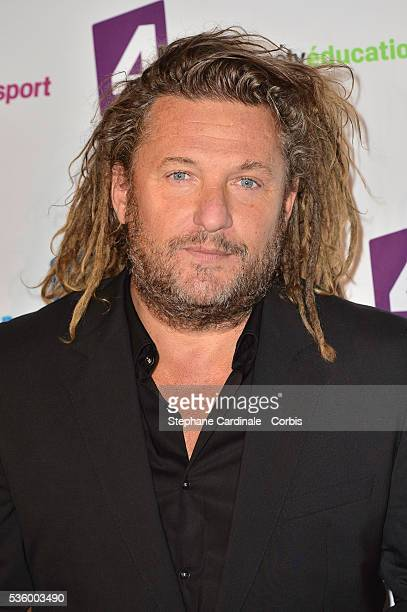Olivier Delacroix attends 'France Televisions' Photocall at Palais De Tokyo on August 26 2014 in Paris France