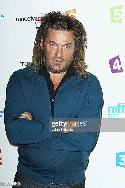 Olivier Delacroix attends 'La Rentree France Televisions' at Palais De Tokyo on August 27 2013 in Paris France