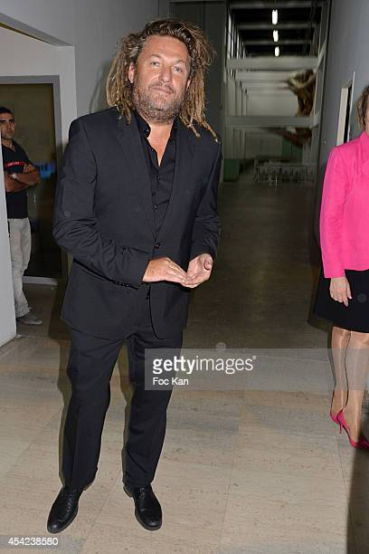 Olivier Delacroix attends the 'Rentree de France Televisions' at Palais De Tokyo on August 26 2014 in Paris France