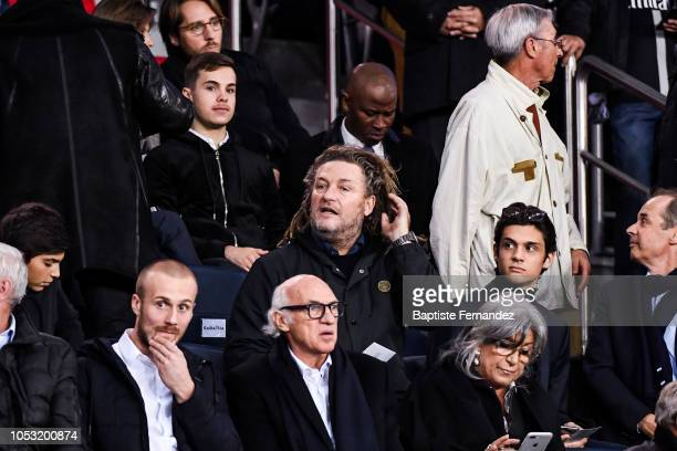 Olivier Delacroix during the UEFA Champions League football match between Paris Saint Germain and SSC Naples on October 24 2018 in Paris France
