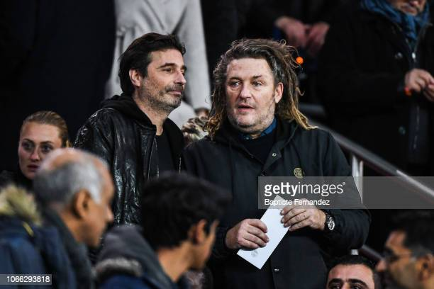 Olivier Delacroix during the UEFA Champions League Group C match between Paris Saint Germain and Liverpool on November 28 2018 in Paris France