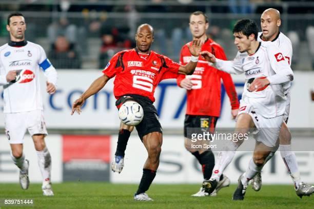 Olivier ECHOUAFNI / Sylvain WILTORD / Ala Eddine YAHIA Rennes / Nice 22eme journee de L1