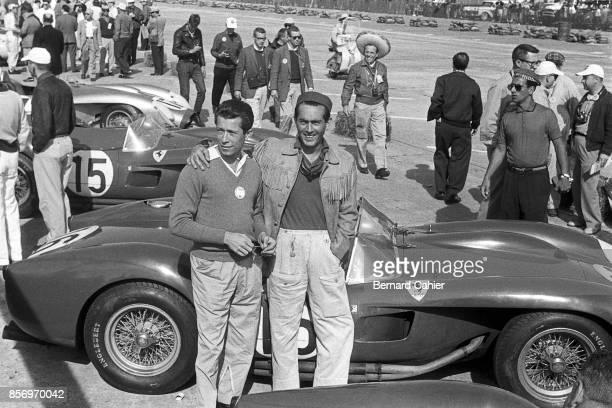 Olivier Gendebien Luigi Musso Ferrari 860 Monza 12 Hours of Sebring Sebring 24 March 1956