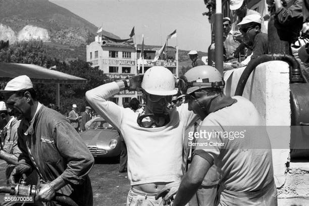 Olivier Gendebien Luigi Musso Targa Florio Sicily 05 November 1958