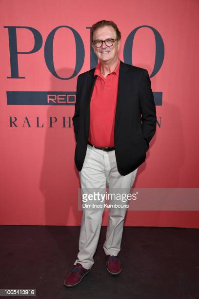 Olivier Gillotin attends the Polo Red Rush Launch Party with Ansel Elgort at Classic Car Club Manhattan on July 25 2018 in New York City