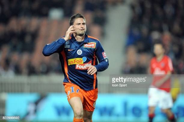 Olivier GIROUD - - Paris Saint Germain / Montpellier - 27e journee Ligue 1,