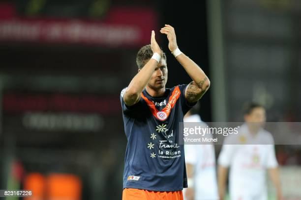 Olivier GIROUD - - Brest / Montpellier - 6e journee Ligue 1,