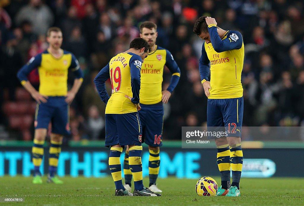 Stoke City v Arsenal - Premier League : News Photo