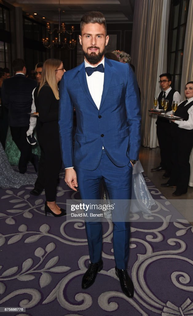 Olivier Giroud attends the 8th Global Gift Gala London in aid of Great Ormond Street Hospital Children's Charity at Corinthia Hotel London on November 18, 2017 in London, England.