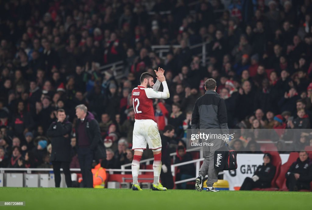 Arsenal v West Ham United - Carabao Cup Quarter Final : News Photo