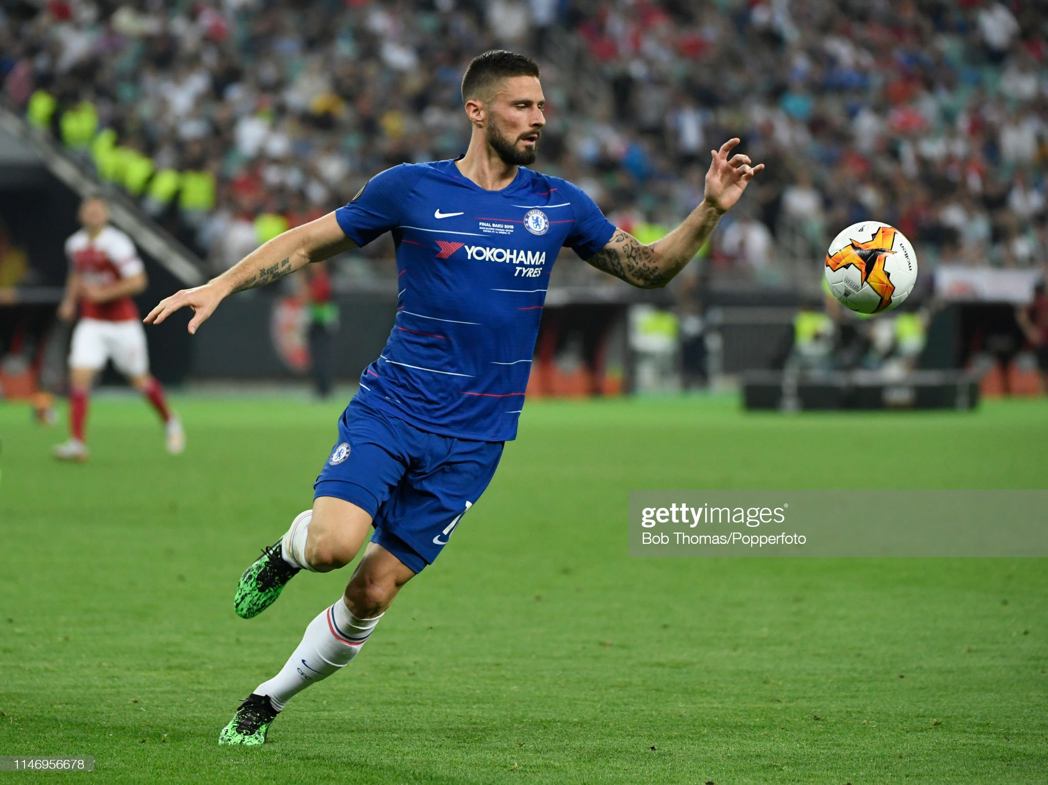 UEFA Europa Final Chelsea v Arsenal : News Photo