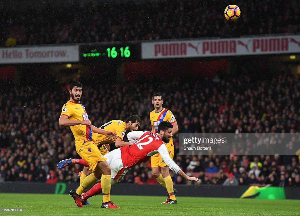 Arsenal v Crystal Palace - Premier League : News Photo