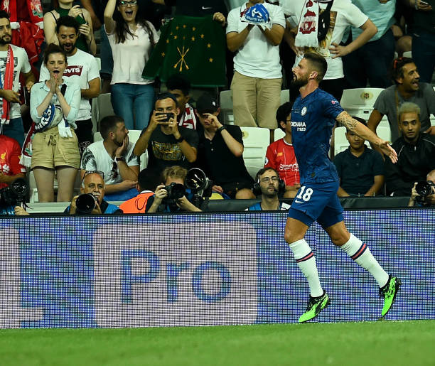 SUPER COUPE EUROPE UEFA 2019 Olivier-giroud-of-chelsea-celebrates-the-opener-during-the-uefa-super-picture-id1168052734?k=6&m=1168052734&s=612x612&w=0&h=3HDQDo0VAM7-YychCrpn-9veqgzjevaVBF8eXbUX1HM=