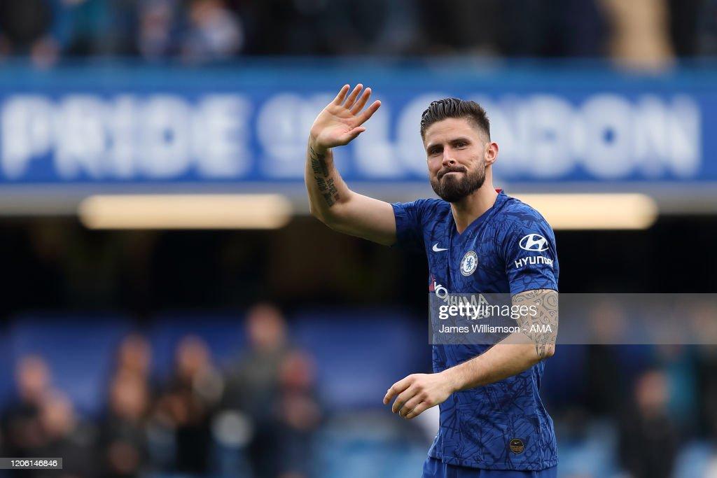 Chelsea FC v Everton FC - Premier League : Photo d'actualité