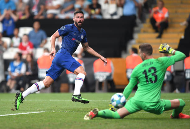 SUPER COUPE EUROPE UEFA 2019 Olivier-giroud-of-chelsea-scores-his-teams-first-goal-during-the-uefa-picture-id1168043775?k=6&m=1168043775&s=612x612&w=0&h=Hq79KRjWTQkeVOew5yxcObB0L1jC2nL8kH2cz_HS_jY=