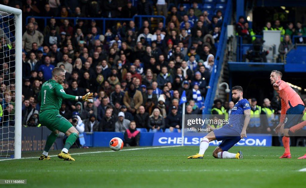 Chelsea FC v Everton FC - Premier League : News Photo