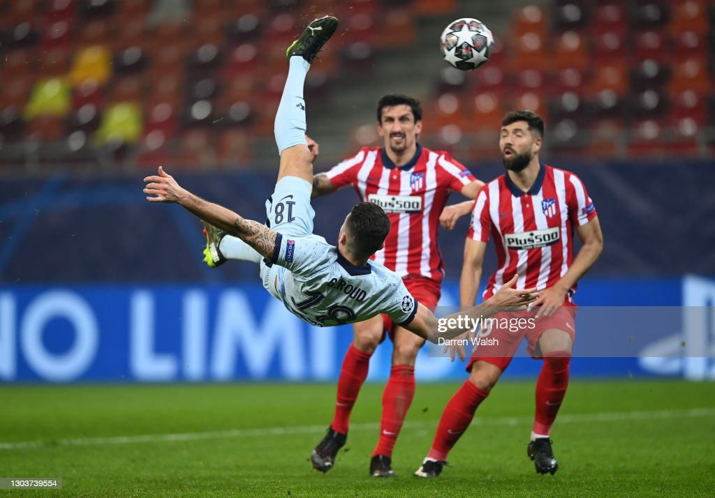 Atletico Madrid v Chelsea FC  - UEFA Champions League Round Of 16 Leg One : News Photo