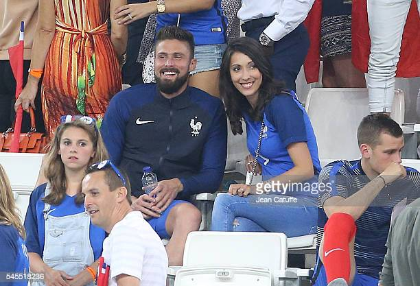 242 Olivier Giroud Wife Photos And Premium High Res Pictures Getty Images