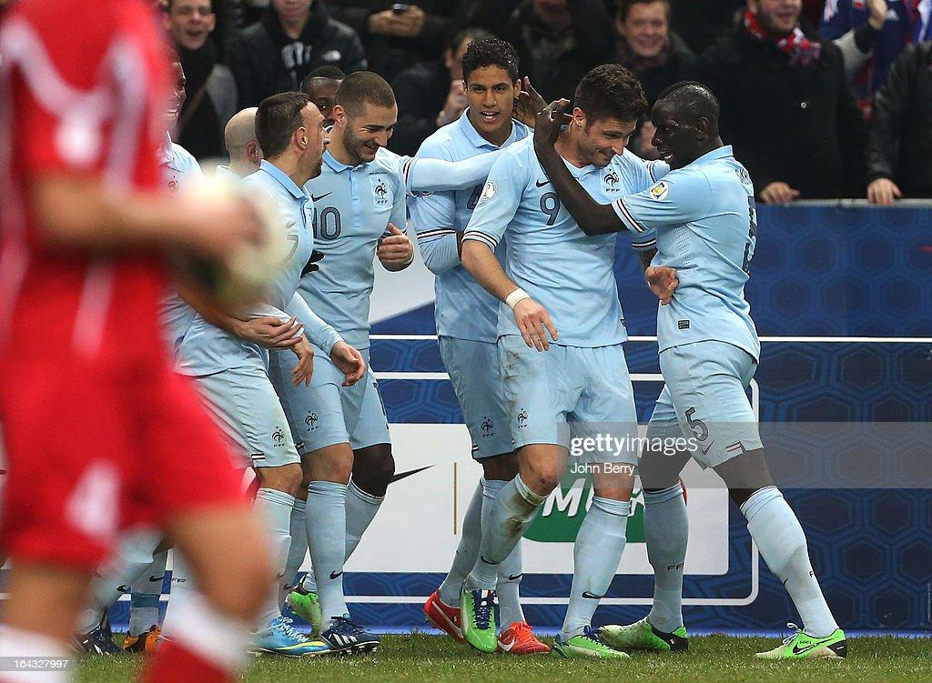 France v Georgia - FIFA 2014 World Cup Qualifier