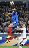 paris france olivier giroud france during