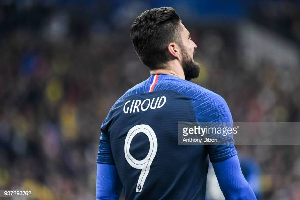 Olivier Giroud of France during the International friendly match between France and Colombia on March 23 2018 in Paris France