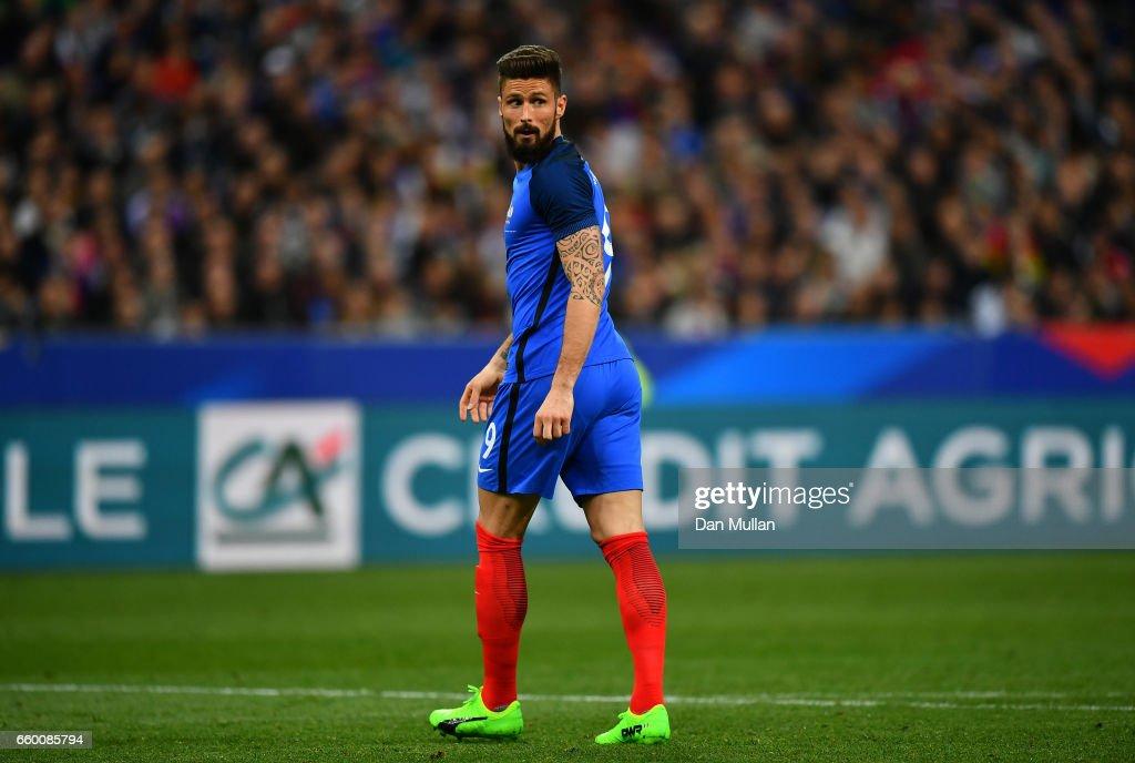 France v Spain International Friendly : News Photo