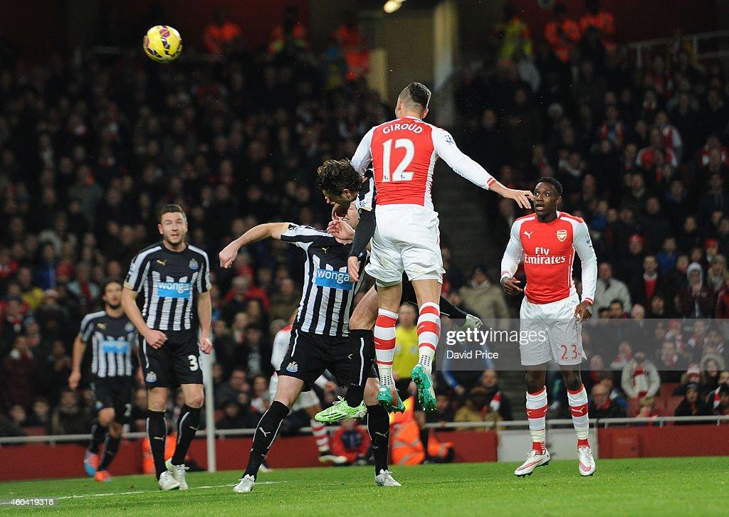 Olivier Giroud Scores Arsenal Goal Under Pressure From