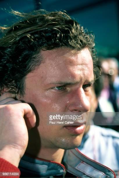 Olivier Grouillard Grand Prix of France Circuit de Nevers MagnyCours 07 July 1991